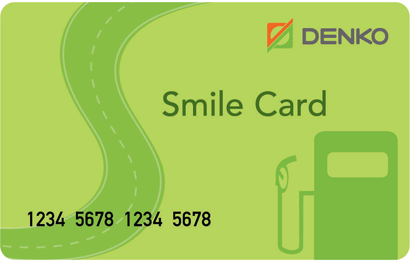 Smile Fleet Card